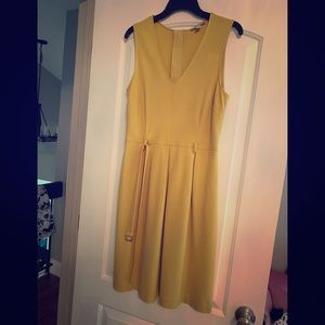 Yellow Banana Republic Dress